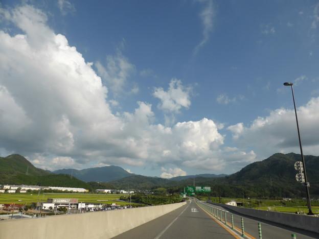 和田山は夏空だった