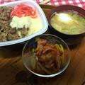 Photos: 今日も牛丼