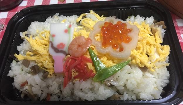 おせちの残りでお寿司
