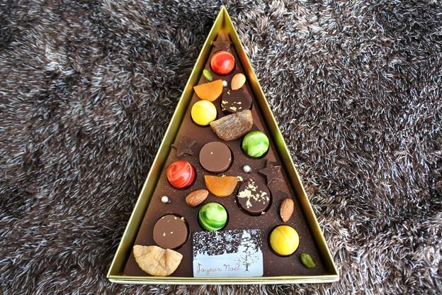 ショコラティエ パレドオールのクリスマスツリーショコラ3