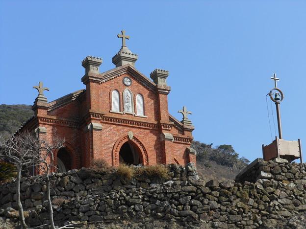 五島列島巡礼の旅*無人島・野崎島にある旧野首教会6