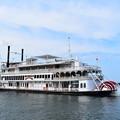 びわ湖の南側を周遊する遊覧船 ミシガン