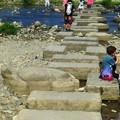 Photos: 鴨川の飛び石