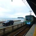 江ノ島と江ノ電