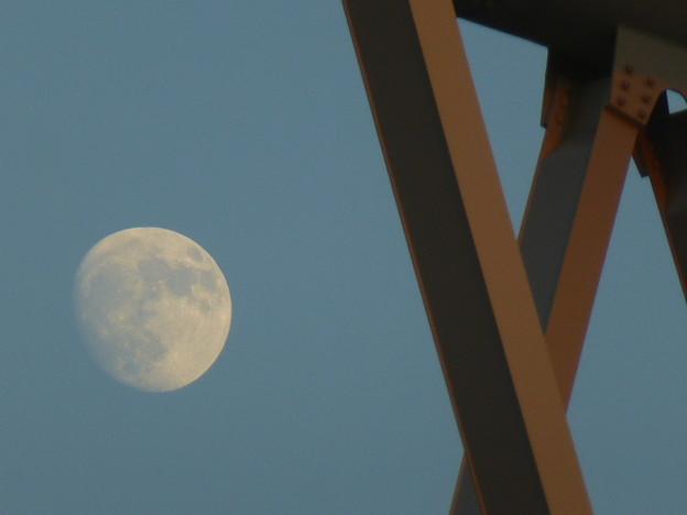 鉄橋とお月さま