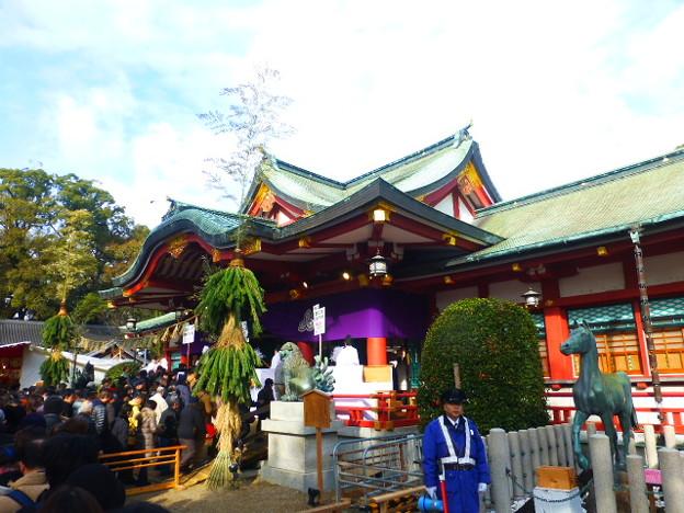 写真: 国内に約3500社ある えびす神社の総本社