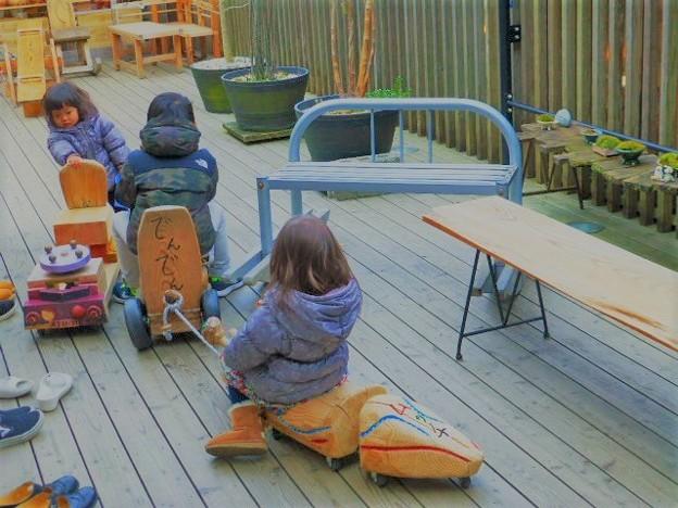 子供たちの遊び場
