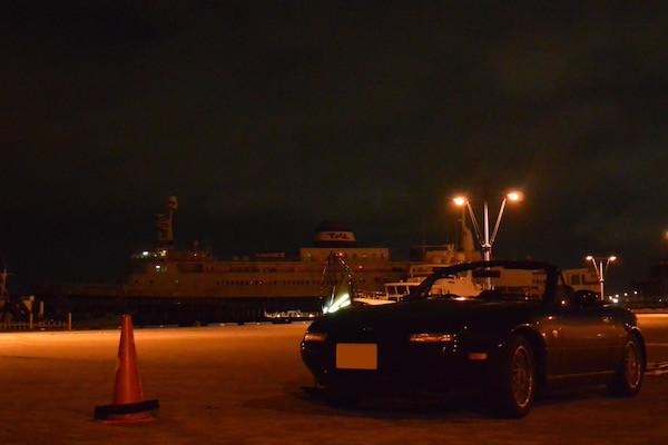 青函連絡船とロードスター