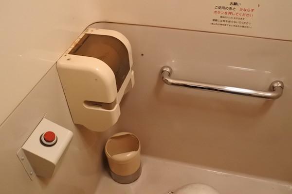 「ご使用のあと かならずボタンを押してください」とあります。