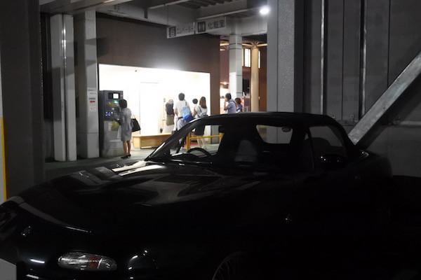 新青森の駐車場のVR-Bと再会