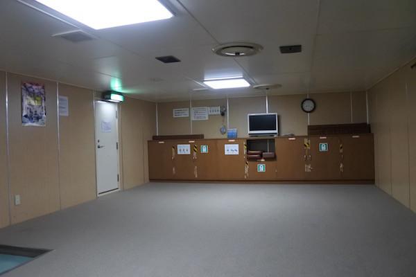 こんな感じの船室