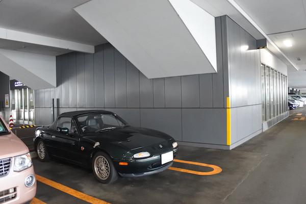 お仕事を終えてからVR-Bを停めた空港駐車場へ戻り