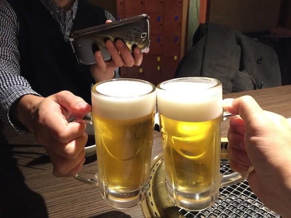 RS++さんと一緒に乾杯!