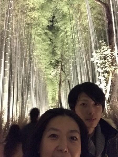 免許取得当日から京都嵐山までドライブ