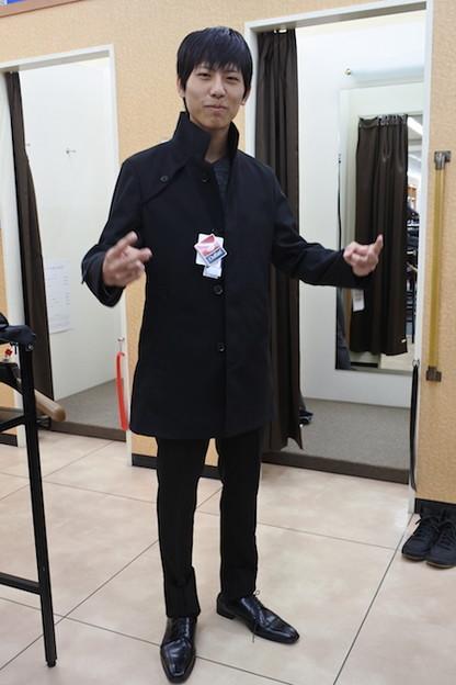 やり手の店員さんにコートまで買わされてしまった