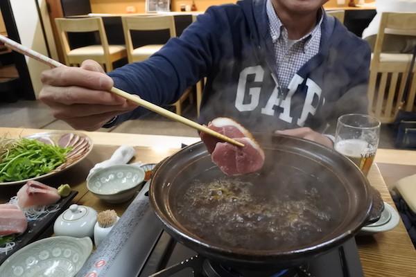 鴨肉も美味しい