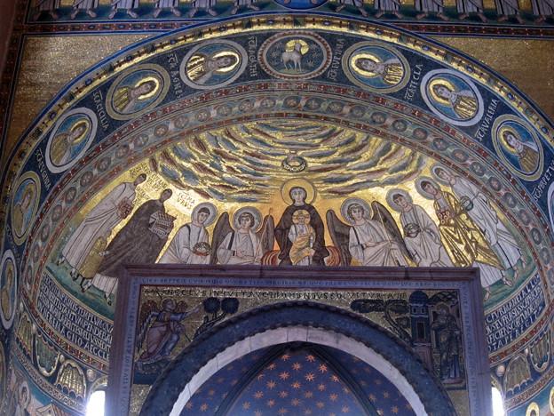 6世紀のモザイク画