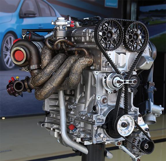 ボルボ・S60・ポールスターTC1(Volvo S60 Polestar TC1) エンジン Engine ハネウェル ギャレット ターボチャージャー