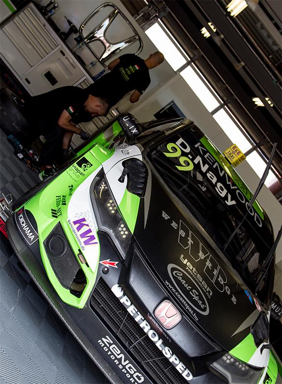 ゼングー・モータースポーツ(Zengo Motorsport) ホンダ・シビック・WTCC(Honda Civic WTCC)ダニエル・ナジー(Daniel Nagy)