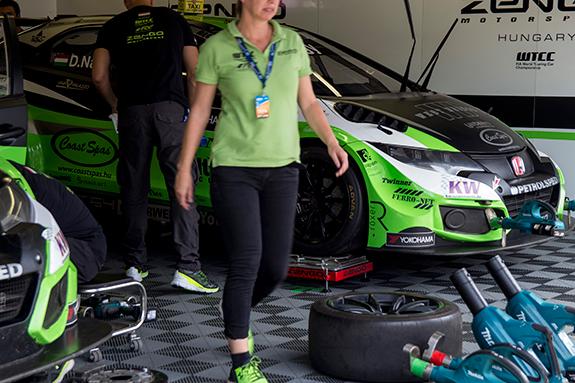 ゼングー・モータースポーツ(Zengo Motorsport) ホンダ・シビック・WTCC(Honda Civic WTCC)