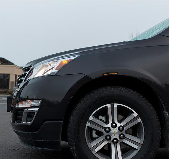Chevrolet Traverse (シボレー・トラバース) LT 2016 サイド・フロントまわり