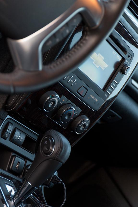 Chevrolet Traverse (シボレー・トラバース) LT 2016 センター・ダッシュ