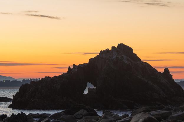 写真: 志賀島の朝焼け♪3