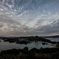 展海峰からの夕景♪