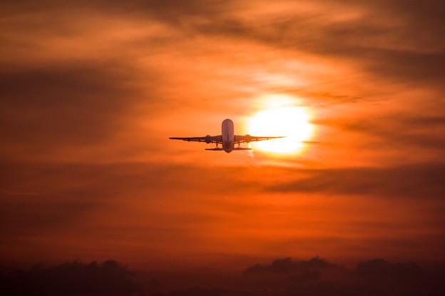 熊本空港夕景♪