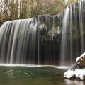 写真: 雪の鍋ヶ滝♪