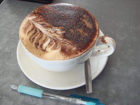 Coast Roast Coffeeのカプチーノ