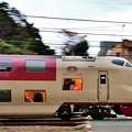 写真: 夜行列車の朝