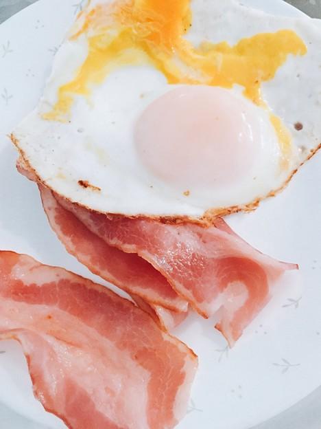 Photos: ムスコが作った朝ごはん