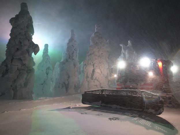 山形蔵王 樹氷幻想回廊ツアー1