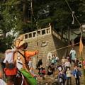 写真: 750 大久保鹿島神社の流鏑馬
