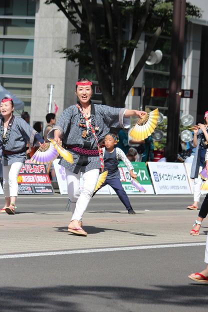 Photos: 28.7.31夏まつり仙台すずめ踊り(その6)