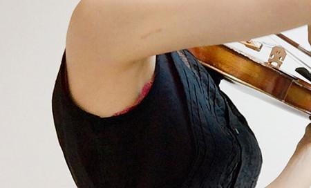 東京・中野・練馬・江古田、ヴァイオリン・ヴィオラ・音楽教室<br /> 弓がブレない方法