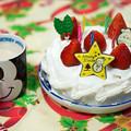 写真: Christmas cake