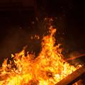 写真: 想いの炎