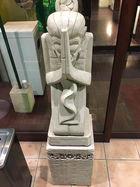 謝罪の銅像