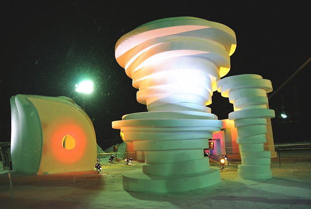 雪の芸術2015