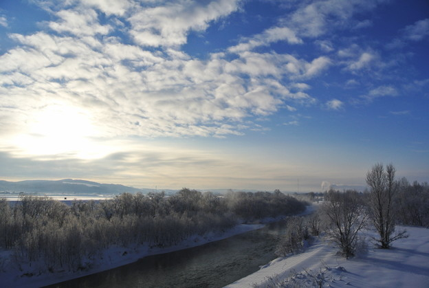 氷点下20度の朝