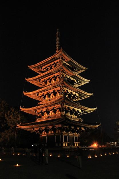 燈花会(五重塔)