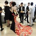 Photos: 和ドレス