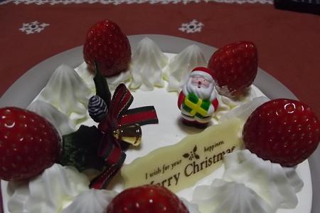 クリスマスケーキ1224