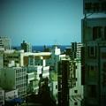 Photos: 駅ビルから海が見えるよ